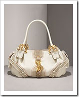 Baby Fluffy Patent Leather Hobo